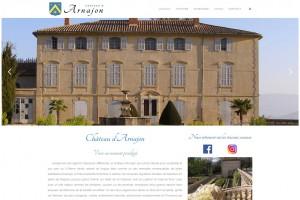Site internet de la Bastide d'Arnajon (Bouches-du-Rhône).