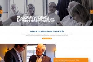 Site internet du groupe Consultec.