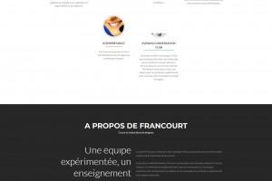 Site internet bilingue.
