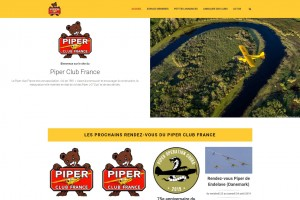 Site internet de l'association Piper Club France.