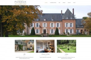 Site internet du gîte du château de Puisieux-et-Clanlieu (Aisne).