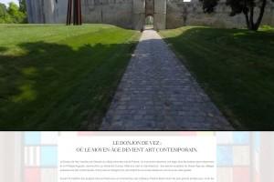 Site internet du Donjon de Vez (Oise).