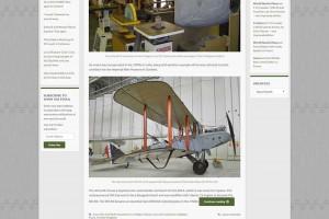 Site d'actualités de l'aviation ancienne.