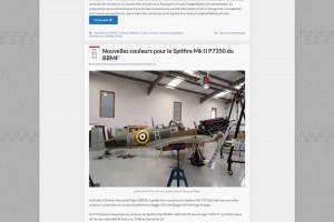 Site d'actualités de l'aviation ancienne en France.